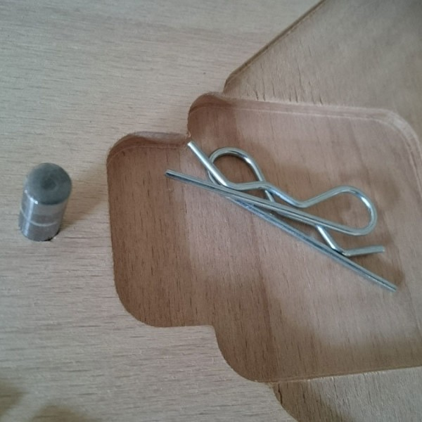 Teilefach für Federstecker