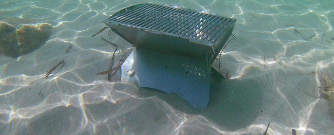 Unterwasser Grill