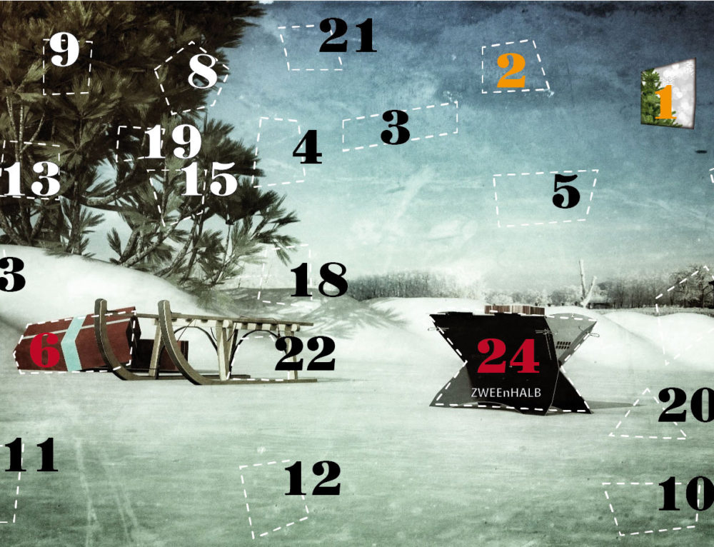 2nd Advent calendar door