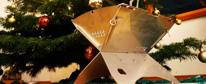 Das Geschenk passt unter den Baum!