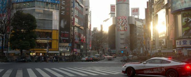 Der Grill in Tokio
