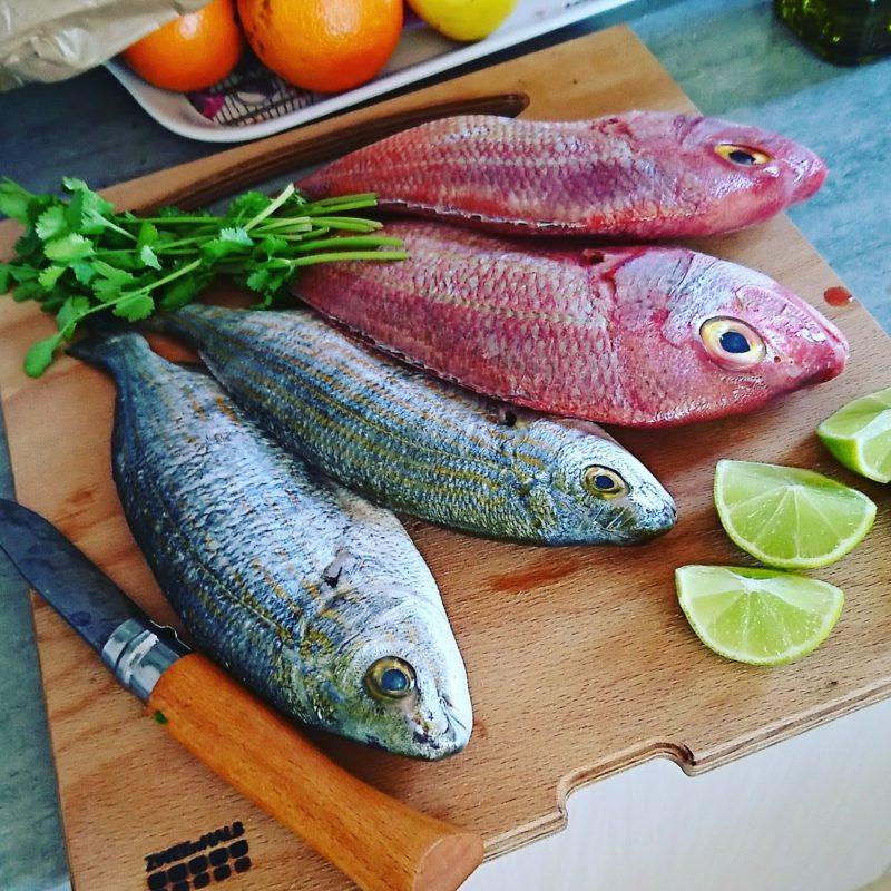 Fisch zubereitet