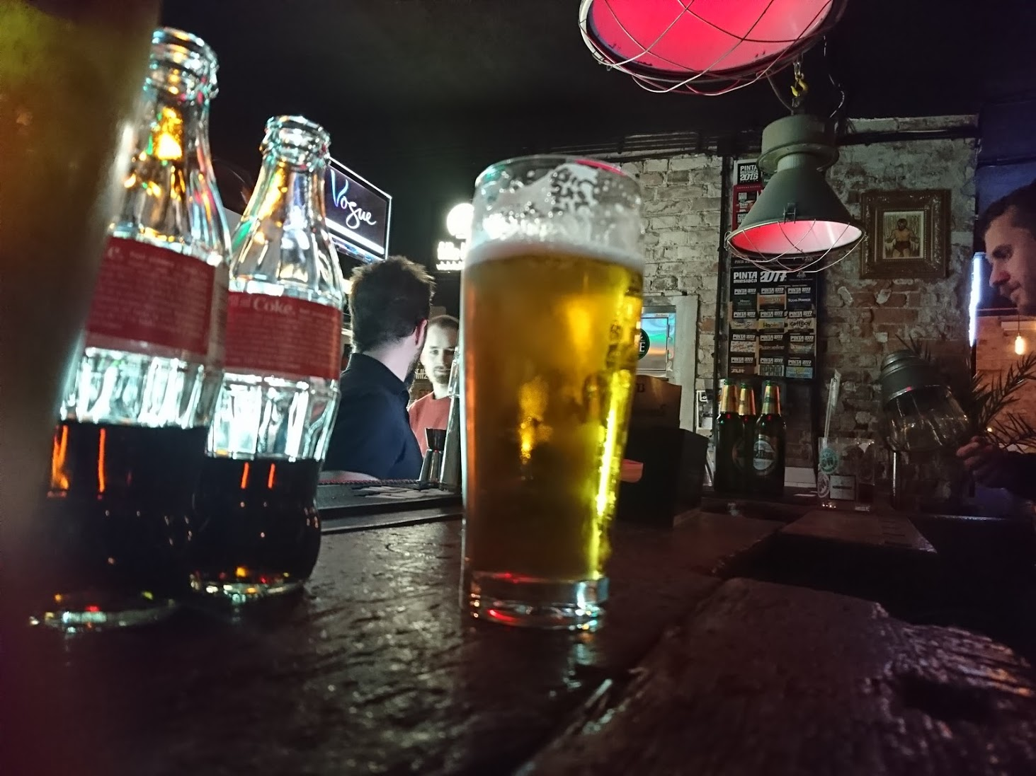 after-work beer