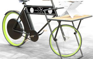 Grillen und Fahrrad